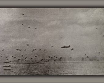 Poster, Many Sizes Available; Japanese Aerial Raid In World War Ii