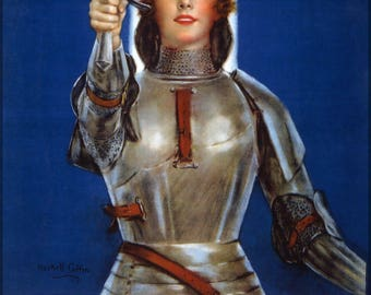 Poster, Many Sizes Available; Joan Of Arc  War Bonds Drive C1918