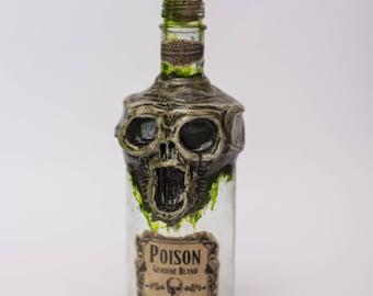 Skull Pirate Poison Bottle Apothecary jar