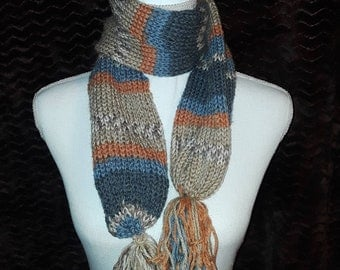 Handknit scarf -13