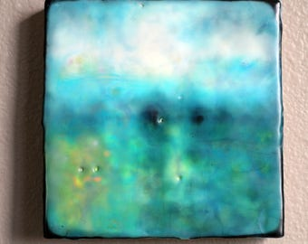 Original encaustic painting, encaustic art, mixed media, contemporary art, contemporary painting, modern art