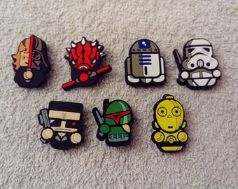 Lot 7 jibbitz Star wars (badges for fangs)