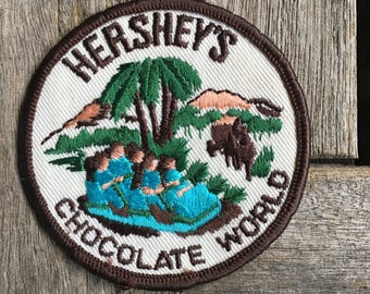 Hershey's Chocolate World Vintage Travel Souvenir Patch