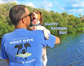 Boat Dog Breath Mints Men's T