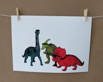 Dinosaur Photo Print