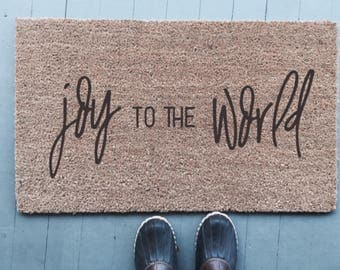 Joy To The World|Doormat
