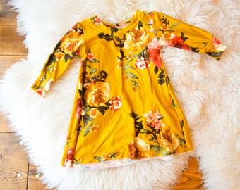 Little girls Annabeth dress, baby girl dress purple floral dress, Baby dress, Baby sweater, floral dress, baby girl