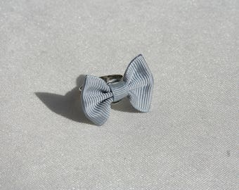 Bow tie Adjustable ring