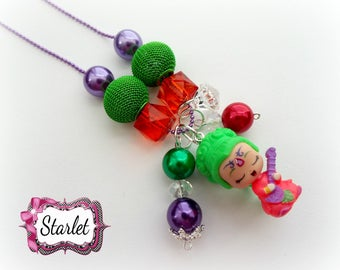 Shimmer and Shine, Teenie Genie Ready to Wear Necklace, Birthday Gift, Party Favor, Girl's Jewelry