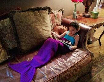 Mermaid Tail Blanket/Mermaid Blanket/Mermaid Tail Blanket Kids/Mermaid Blanket Kids/Mermaid Blanket Adult/Mermaid Tail Blanket Adult