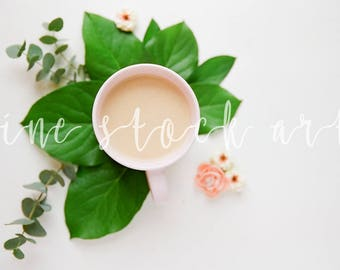 Styled Coffee Stock Art | Instant Download | Blog Stock Photo