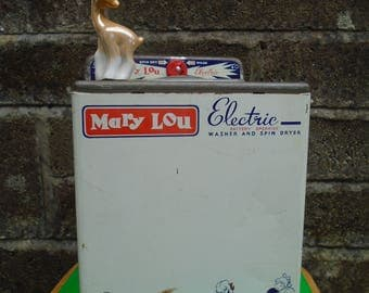 Vintage Chad Valley Mary Lou Electric Washer and Spin Dryer, vintage toy,  RARE