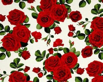 Glamour Roses / custom fabric