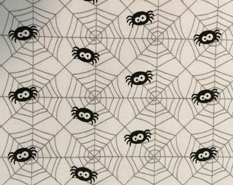 Spider Web fabric from Ghouls & Goodies Collection by Riley Blake Designs