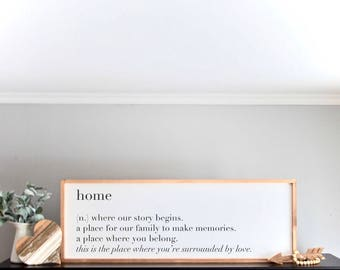 Wooden Sign - Welcome Sign - Home Decor - Housewarming Gift  - Home Sweet Home - Mother's Day Gift - Fathers Day Gift - Valentines  Day Gift