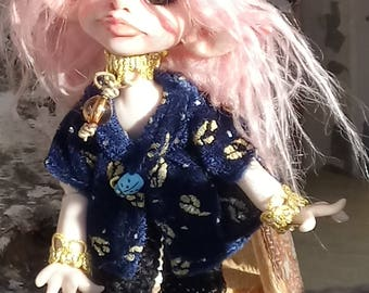 OOAK BJD Art Doll Fairy Elv Rukis