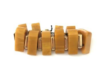 Vintage Bakelite Stretch Bracelet