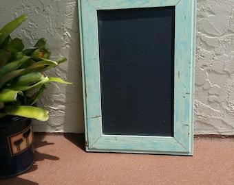 Chalkboard or menu board bohemian or hipster style