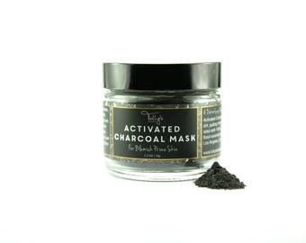 Powdered ACTIVATED CHARCOAL MASK | For Blemish Prone Skin