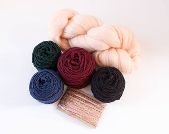 Deep Jewel Tones Yarn Pack