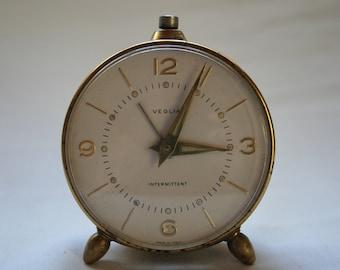 Veglia travel alarm clock from the 1950's, rare!