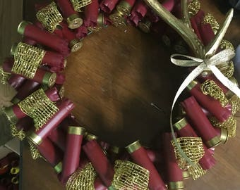 Shot Gun Shell Wreath