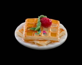 Waffle And Syrup Sheets W Optional Fruit Pillows