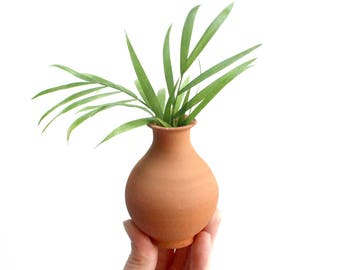Miniature Terracotta Pot, Bohemian Home Decor