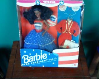Mattel Barbie for President Barbie Doll African American