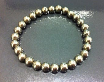 Gold Pyrite bracelet