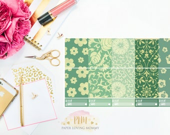 June Full Box Stickers | Planner Stickers designed for use with the Erin Condren Life Planner