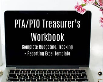 Halloween Worksheets Excel Excel Spreadsheet  Etsy Mixed Number Addition And Subtraction Worksheet Pdf with Free Cut And Paste Worksheets For First Grade Pdf Pta  Pto Treasurers Workbook Pta Organizer For Pta Meetings With Budget  Workbook Report Australia Day Worksheets Free Excel