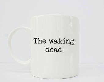 The waking dead 11oz mug