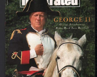 Vintage Magazine - Sports Illustrated : March 1993 - George Steinbrenner
