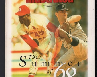 Vintage Magazine - Sports Illustrated : July 19 1993 - Bob Gibson / Denny McLain