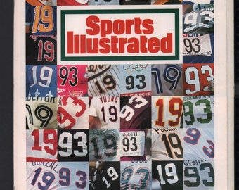 Vintage Magazine - Sports Illustrated : December 27 1993 -