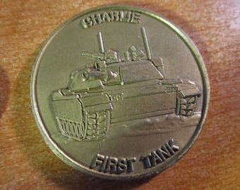 United States Army * 1st Battalion 72D Armor First Tank 2nd Infantry Division Camp Casey 1SG Wesley Challenge Coin #3601