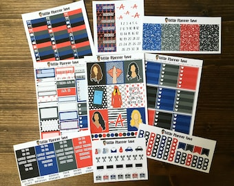 Pretty Little Liars Inspired Sticker Kit - Hand Drawn - A La Carte Options