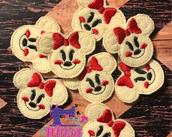 Mrs. Mouse gingerbread felties