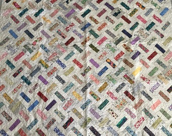 Liberty of London Domino Quilt