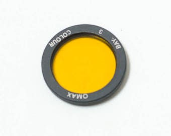 NEW! Rolleiflex Bay III (Bay-3) Yellow filter Omax. For Rollei Rolleiflex 2.8E, 2.8F, 2.8GX etc. with Planar, Xenotar lens.