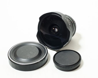 Zodiak-8B 3.5/30 mm medium format fisheye lens, for Kiev-6C/Kiev-60, Pentacon 6, Six. MINT