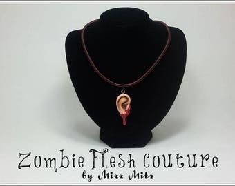 Zombie Ear Necklace