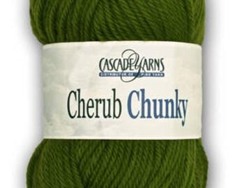Cascade Cherub Chunky Acrylic/Nylon Blend Yarn