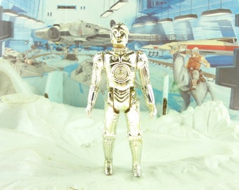 Vintage Star Wars C-3PO Action Figure  From 1977 Kenner