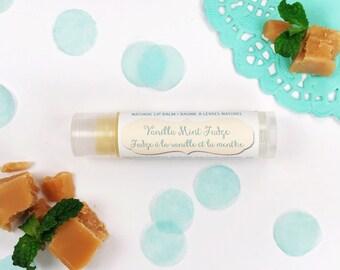 Flavored Lip Balm Vanilla Mint Fudge