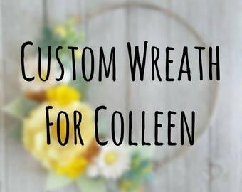 "Custom 12"" Wreath"