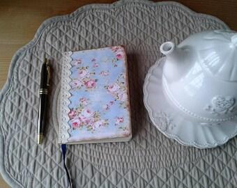sketchbook floral shabby pastel tone A6