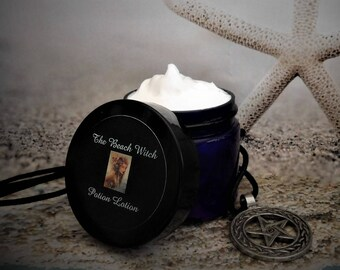 POWERFUL WITCH Potion Lotion, Ritual Lotion, Body Butter w/ Ritual Oil, Spell Oil, Witchcraft, Wicca, Pagan ~ 2 oz