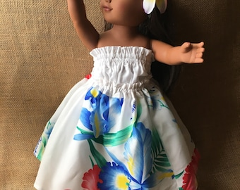 Hawaiian Hula girl dress